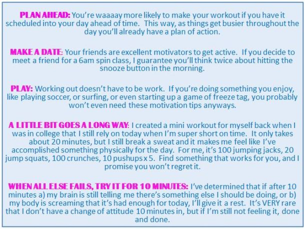 Motivation Ideas 1