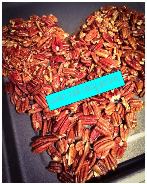 Sweet and Spicy Pecans Header