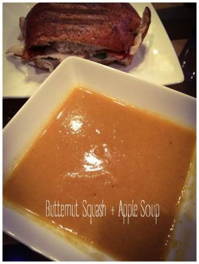 Butternut Squash + Apple Soup
