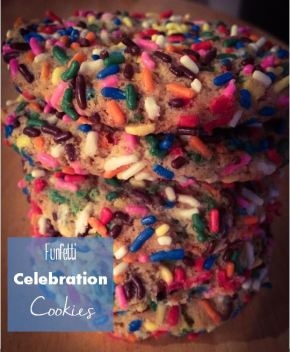 Funfetti Celebration Cookies